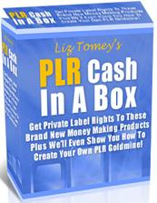 Thumbnail PLR Cash In A Box  Get Private Label Rights To These Brand New Money Making Products  With Private Label Rights