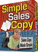 Thumbnail Simple Sales Copy  Sales Copy Made Simple - *w/Resell Rights*