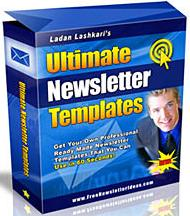 Thumbnail Ultimate Newsletter Templates  Professional Ready Made Templates You Can Use In Seconds - *w/Resell Rights*