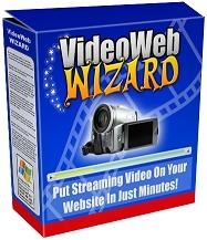 Thumbnail VideoWebWizard  Put Streaming Video On Your Website In Just Minutes  Video Web Wizard - *w/Resell Rights*